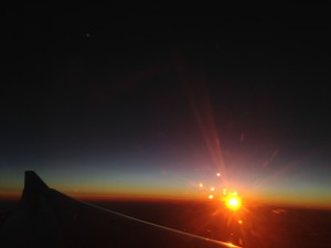 sunrise plane