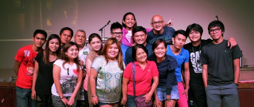 The 14 people who publicly proclaimed their faith to Jesus via Baptism.
