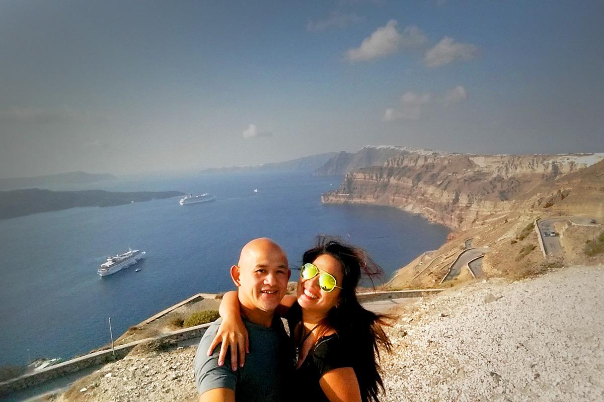 Leaving Greece