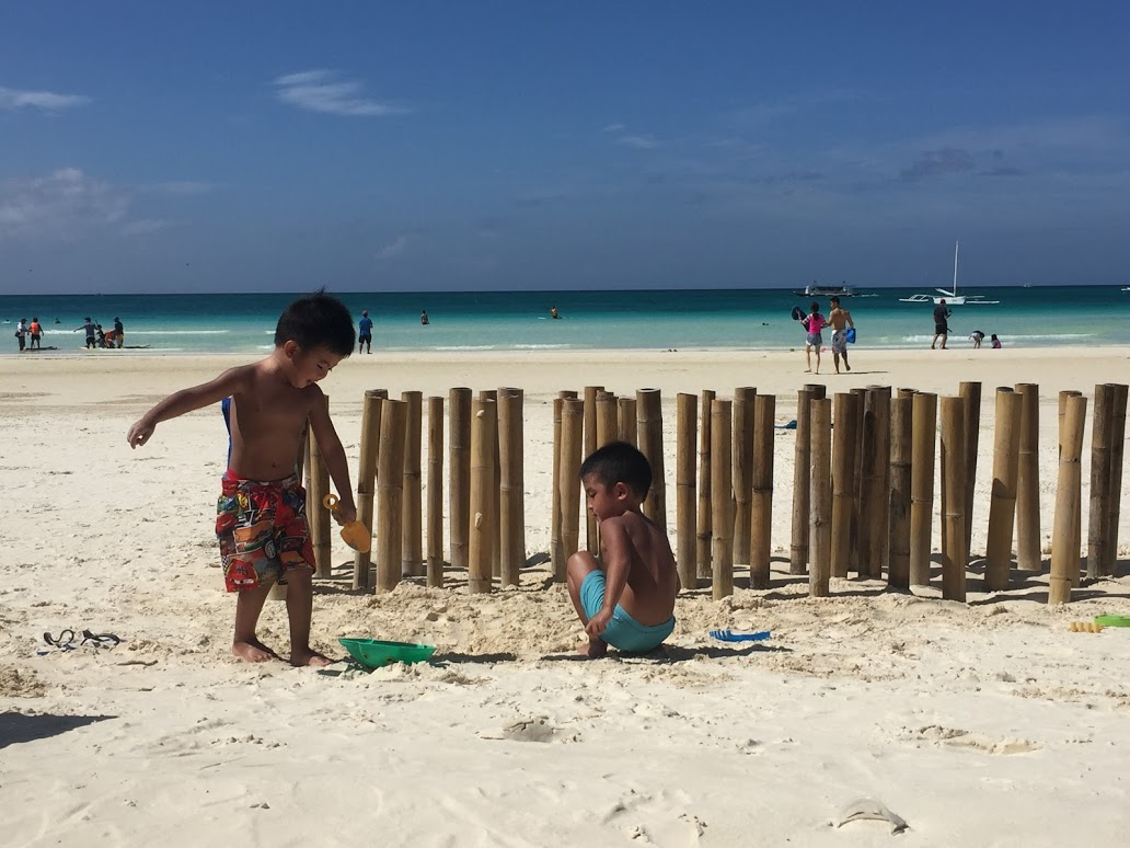 Learning from building a sandcastle