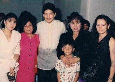with Rudy Fernandez