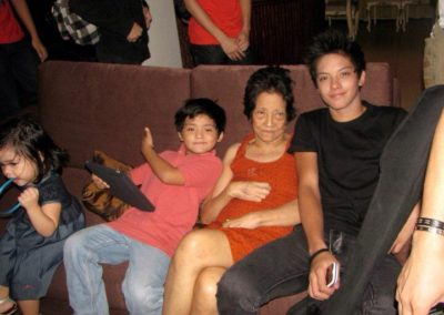 with Daniel Padilla